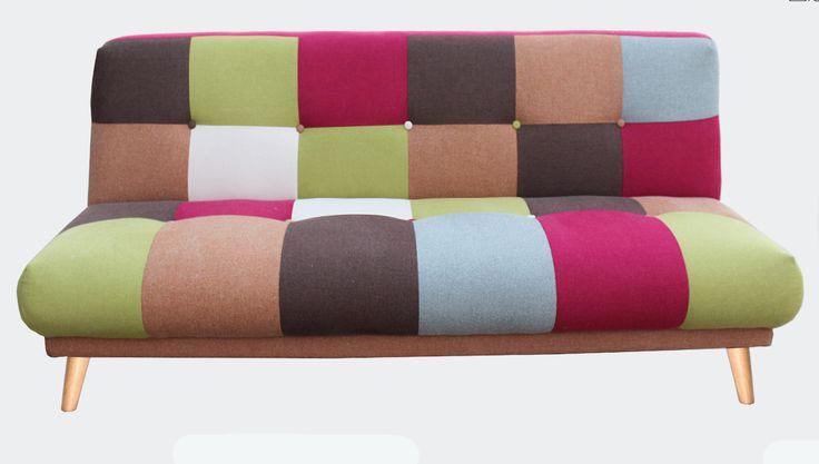 Βάλτε χρώμα στον χώρο σας.!!!! Ένας ιδιαίτερα μοντέρνος καναπές που μετατρέπεται πανεύκολα σε κρεβάτι. #epiplaki #sofa #sofabed #colours #επιπλα #καναπες #moderndesign #cheap