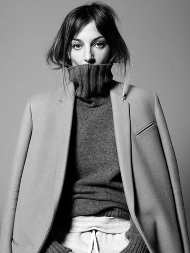 Dress up your polar necks. Feel slick, sophisticated and snug on your way to work this winter.