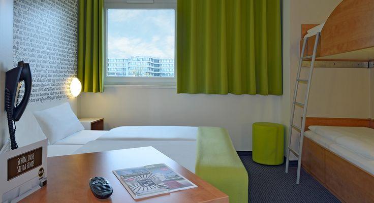 Familienzimmer im B&B Hotel München-Messe