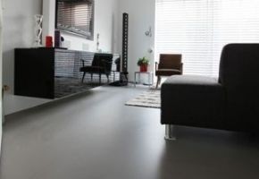 Motion Gietvloer in woning Amsterdam IJburg - Woningen - Projecten - Motion gietvloeren