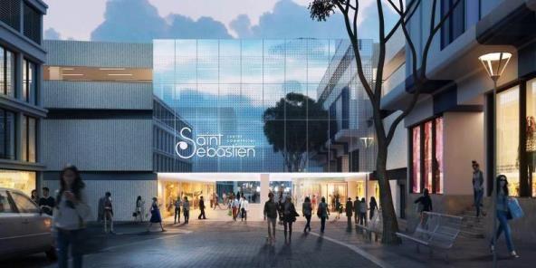 nouveau centre commercial Saint-Sébastien Nancy