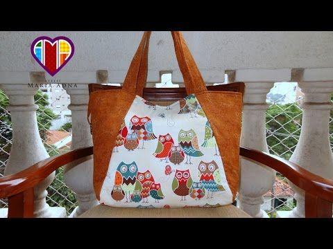 Bolsa carteira de tecido Flaviany. Fabric clutch. Make a fabric purse/wallet. Fabric clutch tutorial - YouTube