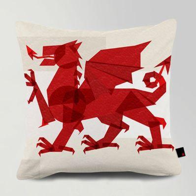 Dragon Cushion  #Fimbis #Onerevolt #Dragon #cushion #pillow #red #collage #homedecor #home #style #homestyle #styleblog #styleblogger #interiors #interiordesign #스타일 #인테리어디자인 #용 #빨간 #쿠션