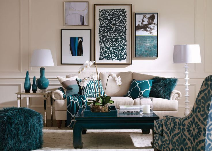 Marlowe floor lamp ethan allen 251 home decor - Salon de estar decoracion ...