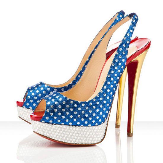 Wonder Woman Shoes TOO CUTE!!