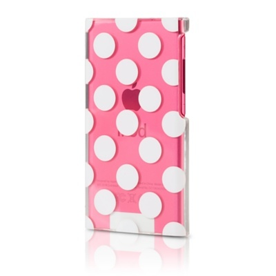 ipod nano 7th generation polka dot case... totally adorable! :P