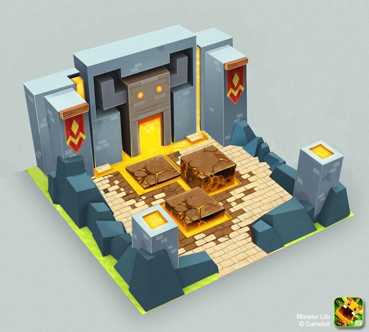 Monster Life - Medieval - Dungeon by ~joslin on deviantART