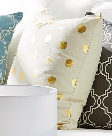 Printed cushions from Kmart