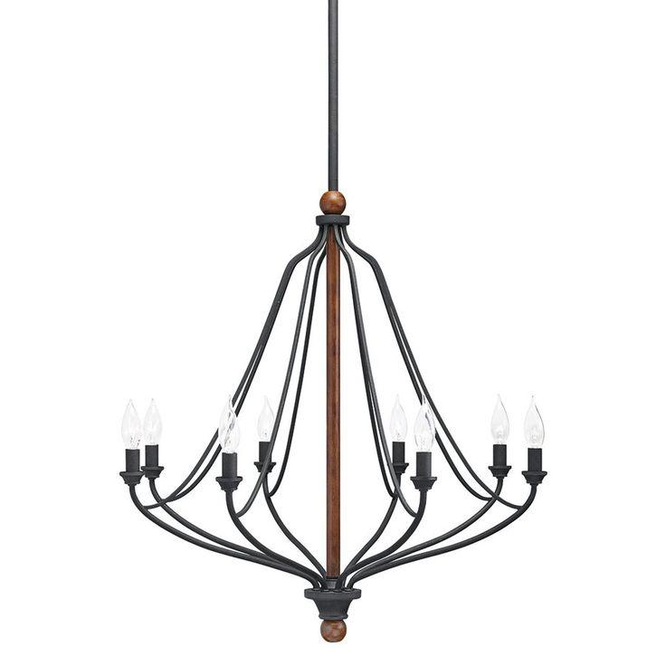 Image result for black iron chandelier