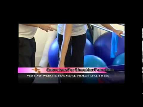 Shoulder Pain Relief - The Pendulum Exercise