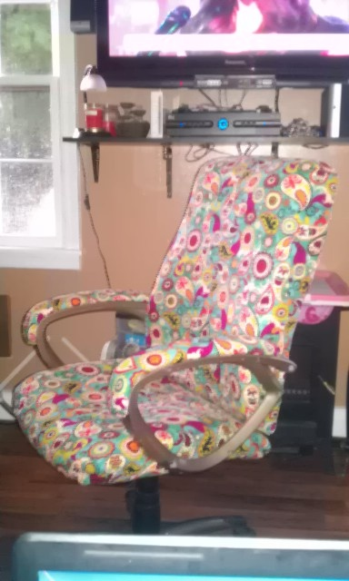 Reupholster Office Chairs Office Chair Recovered Reupholster Chairs