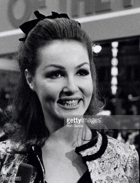 Photo d'actualité : Actress Julie Newmar attending the premiere of...