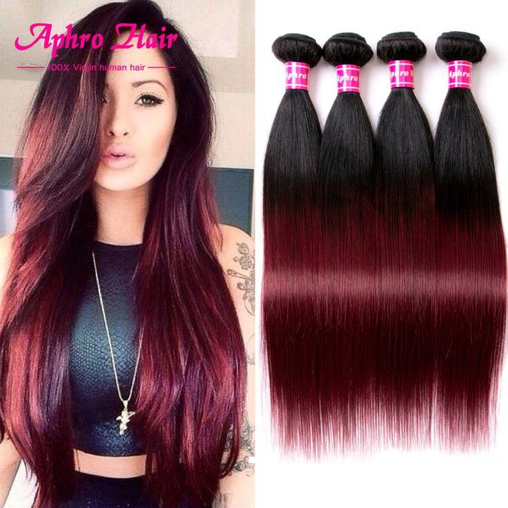 $121.50 (Buy here: https://alitems.com/g/1e8d114494ebda23ff8b16525dc3e8/?i=5&ulp=https%3A%2F%2Fwww.aliexpress.com%2Fitem%2FStraight-Human-Hair-8A-Ombre-Hair-Extensions-Brazilian-Virgin-Hair-4-Bundles-T1B-Burgundy-Brazilian-Straight%2F32676307553.html ) Straight Human Hair 8A Ombre Hair Extensions Brazilian Virgin Hair Straight 4 Bundles T1B/Burgundy Brazilian Straight Human Hair for just $121.50