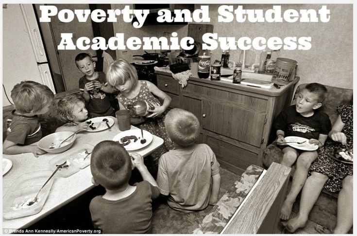 Poverty and Student Academic Success — Kindergarten Kiosk