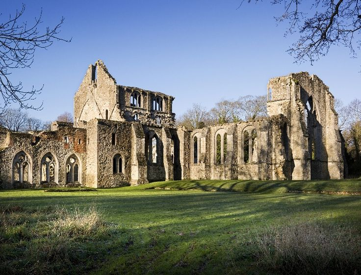 Netley Abbey   English Heritage the ruins of a Cistercian Abbey founded in Hampshire in the 13th century These are one of the most complete set of ruins in Southern England