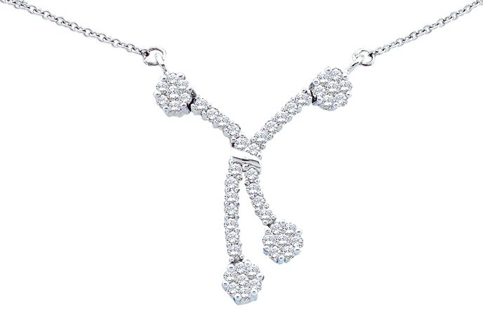 0.50CTW ROUND DIAMOND LADIES FASHION NECKLACE
