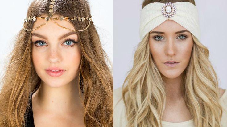 Gli accessori per capelli in stile boho sono raffinati e originali. Perfetti per il 2017!