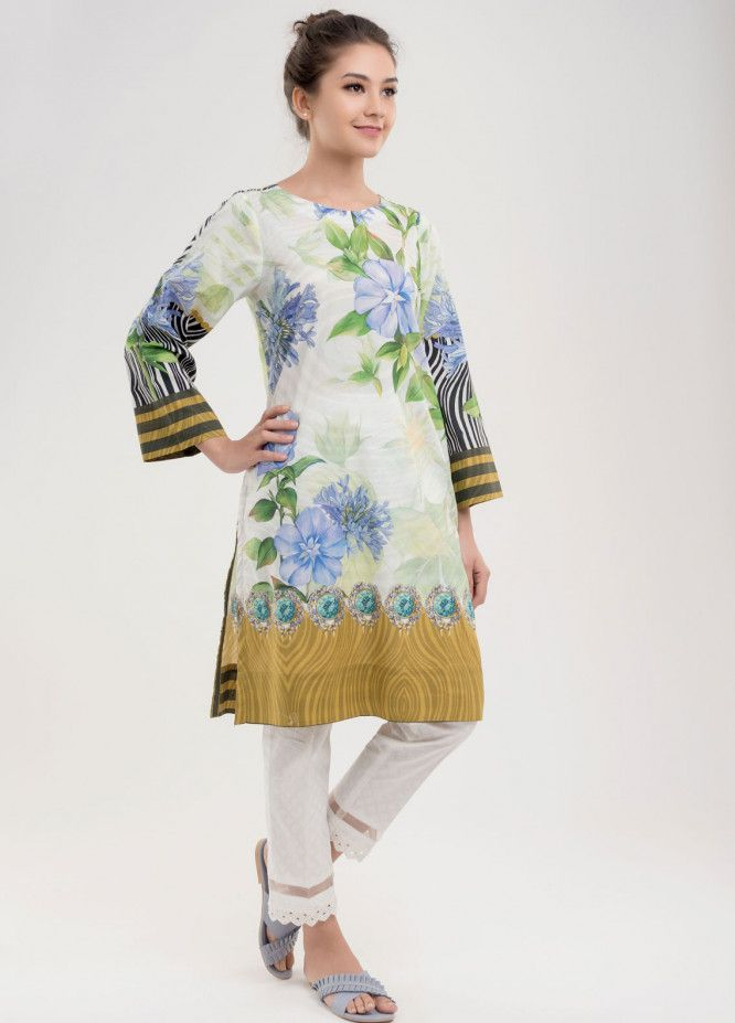 da0b6f42f9 Dhanak Pret Kurtis for Women 2019 Collection - Buy Online | Sanaulla Store  - Dhanak Clothing