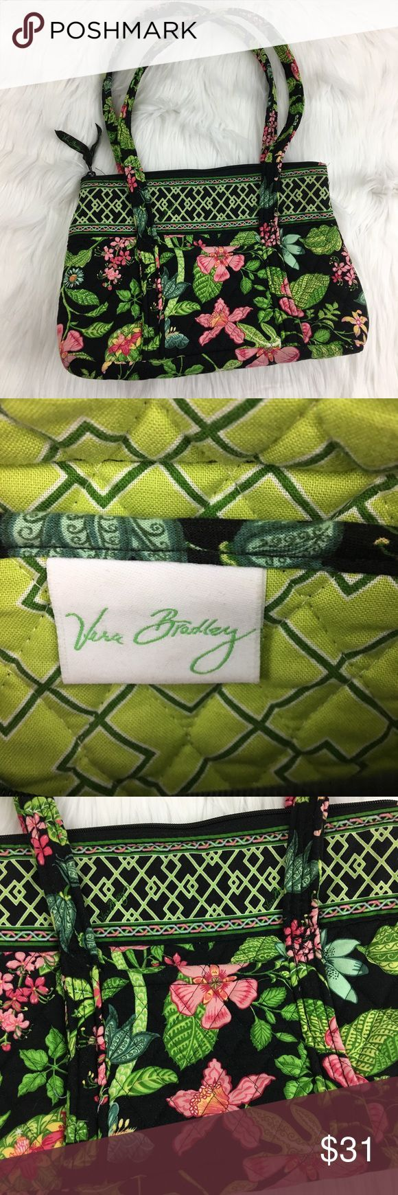 Bags & Handbag Trends : Vera Bradley Handbag Vera Bradley Handbag with floral and lattice design.