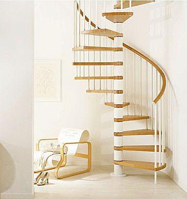 M s de 17 ideas fant sticas sobre escaleras para espacios - Escaleras espacios pequenos ...