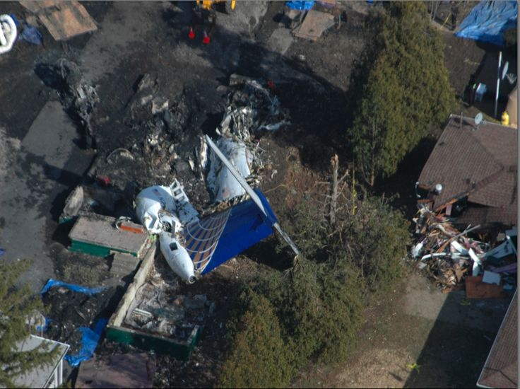 Feb 12th, 2009 - Colgan Air Flight 3407 crashes near Buffalo in the state of New York killing 50 people.