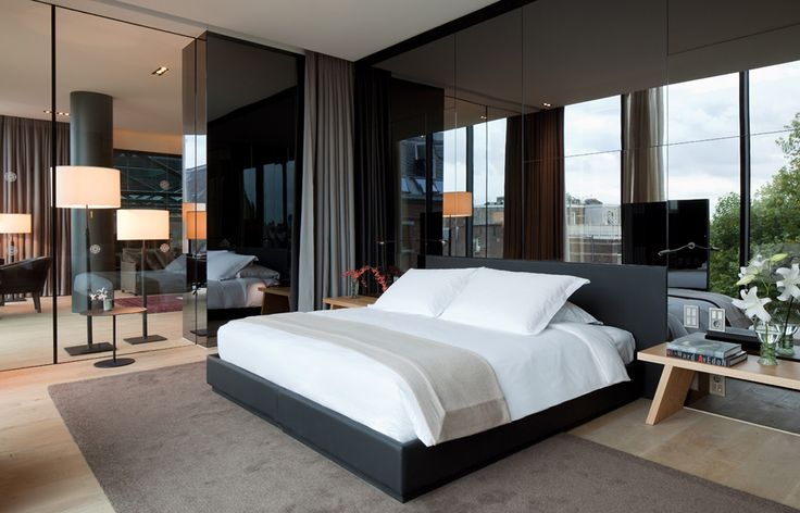 The Penthouse.  © Conservatorium Hotel Amsterdam   | Hotel Liquidators liquidates, sells, removes, ships, and installs furniture to make your job easier for you!  Call Hotel Liquidators at (248) 918-4747 or visit our website www.hotelliquidator.net for more information!