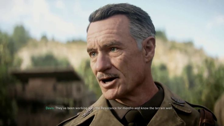 Call Of Duty WW2 - S.O.E August 20, 1944 Near Argentan, France gameplay ...