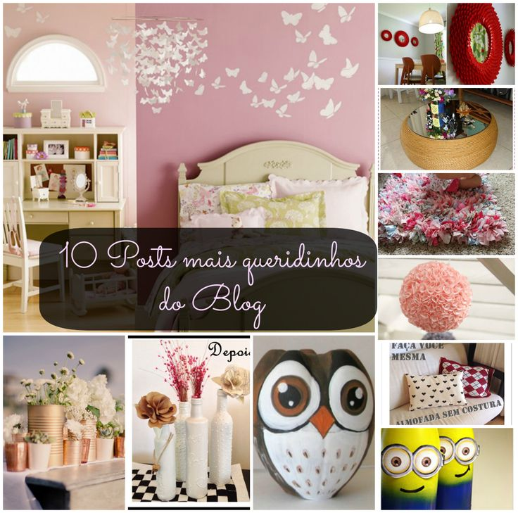 TOP 10   Posts Mais Lidos Do Blog! Home DesignOwlsRecycle