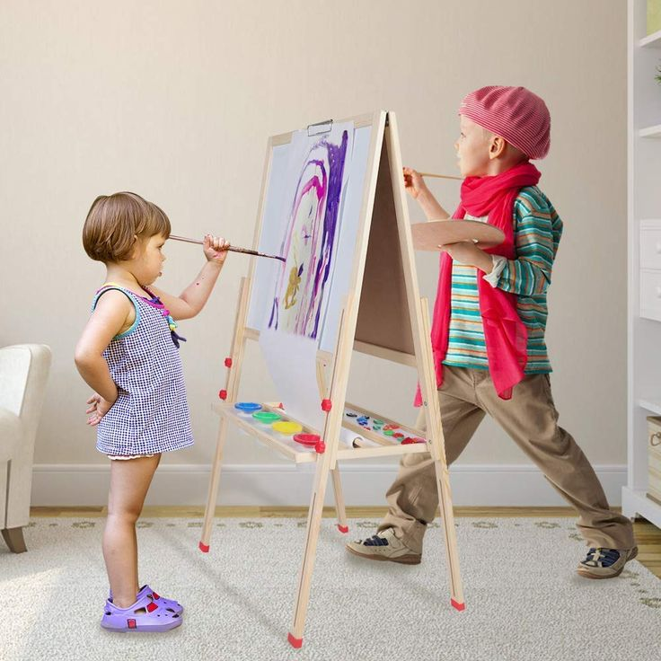 Cocoarm kids art easel 3 in 1 height adjustable painting