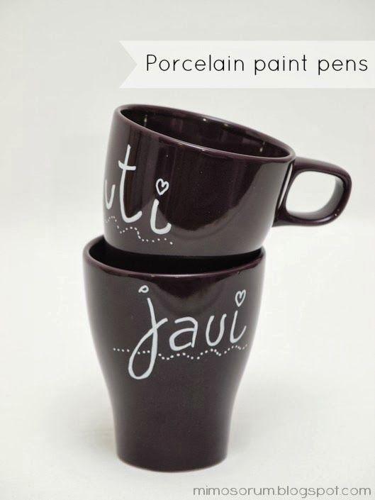 Best 25+ Porcelain paint pens ideas only on Pinterest ...