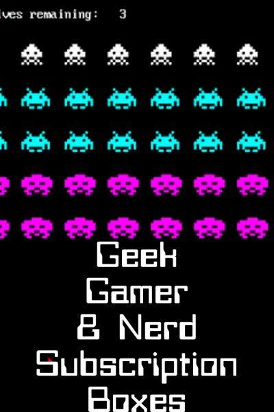 Geek Gamer & Nerd Subscription Boxes http://mommysplurge.com/geek-gamer-nerd-subscription-boxes/ #lootcrate #nerdblock #subscriptionbox #marvel #comics #lego #bricks #geekpride