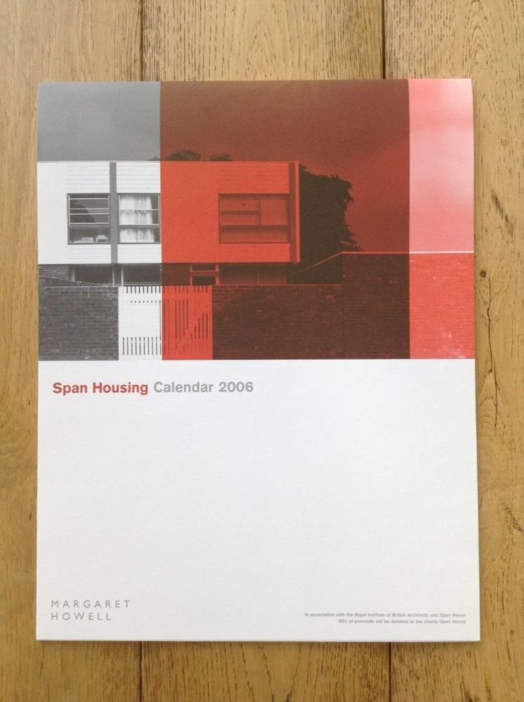 """Span Housing"" Calendar 2006 Produced By Margaret Howell in   eBay"
