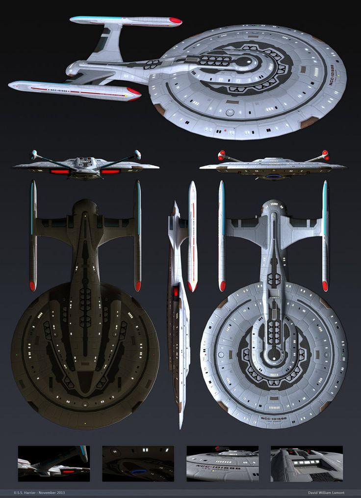 Star Trek universe Lictor WIP A small patrol & escort vessel.