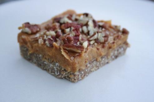 Raw Pecan Pie Bars   Raw/Vegan Recipes   Pinterest