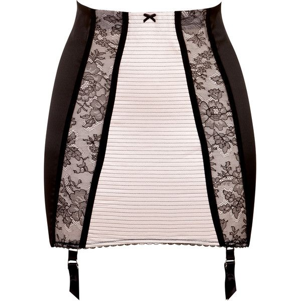 Dita Von Teese Parisienne Girdle (4.525 RUB) ❤ liked on Polyvore featuring intimates, lingerie, underwear, skirts, stripper, rose, floral lingerie, lacy lingerie, lace lingerie and bow lingerie