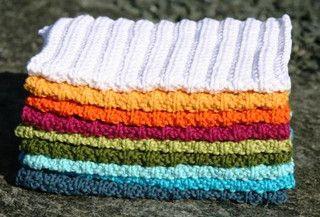 dishcloth (Noors)  met nog heel veel variaties