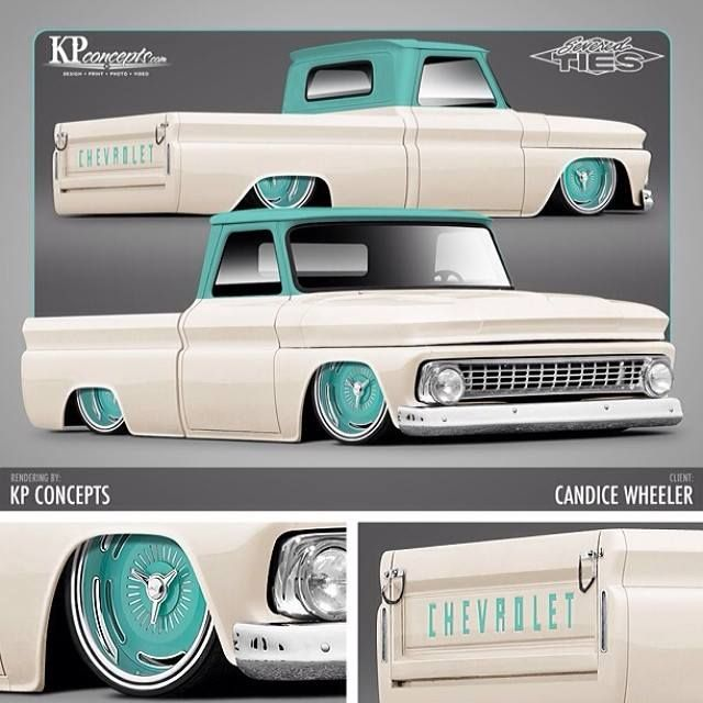 Desperado Raceline Billet Wheels on a '63 Chevy C10..Re-pin..Brought to you by #agentsofInsurance at #HouseofInsurance in #EugeneOregon 97401, 97402, 97403, 97404, 97405