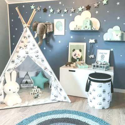 20 tolle Vorschläge und Ideen zur Dekoration von Kinderzimmern Toys, Kids & Baby #Dekoration #Ideen #Kinderzimmern #tolle #und