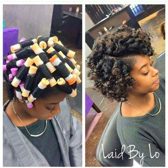 Perm Rod Results Hair Amp Beauty That I Love Pinterest