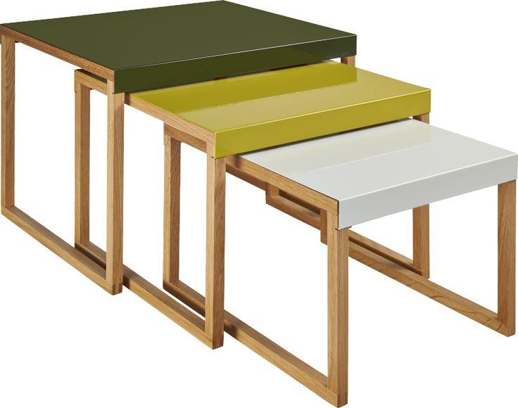 17 meilleures images propos de table basse sur pinterest eames m taux et - Table gigogne habitat ...