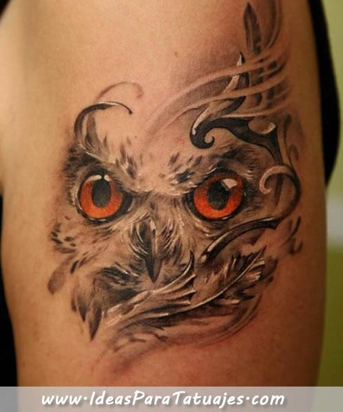 Tatuajes De Buhos En El Brazo