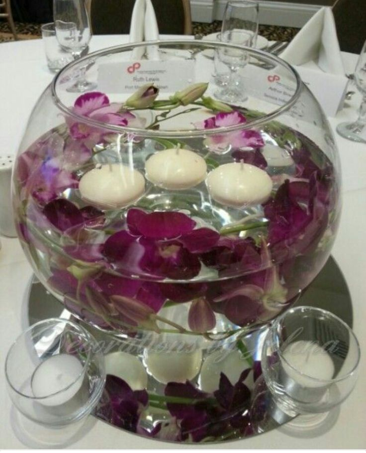 Floating Candle Centerpieces For Tables Ideas: 25+ Best Ideas About Floating Candle Bowls On Pinterest