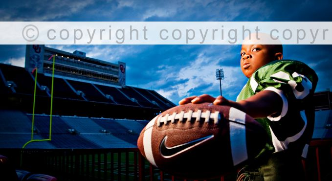 Youth football photo pose...thought of you @Desiree Nechacov Siggens