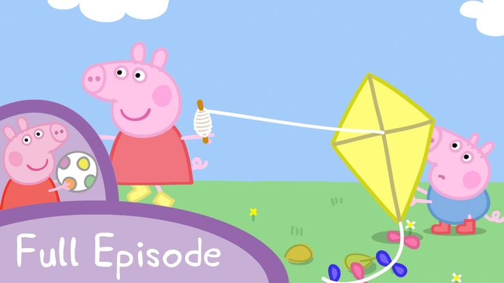 Peppa Pig: Flying A Kite Play from beginning to 2:00