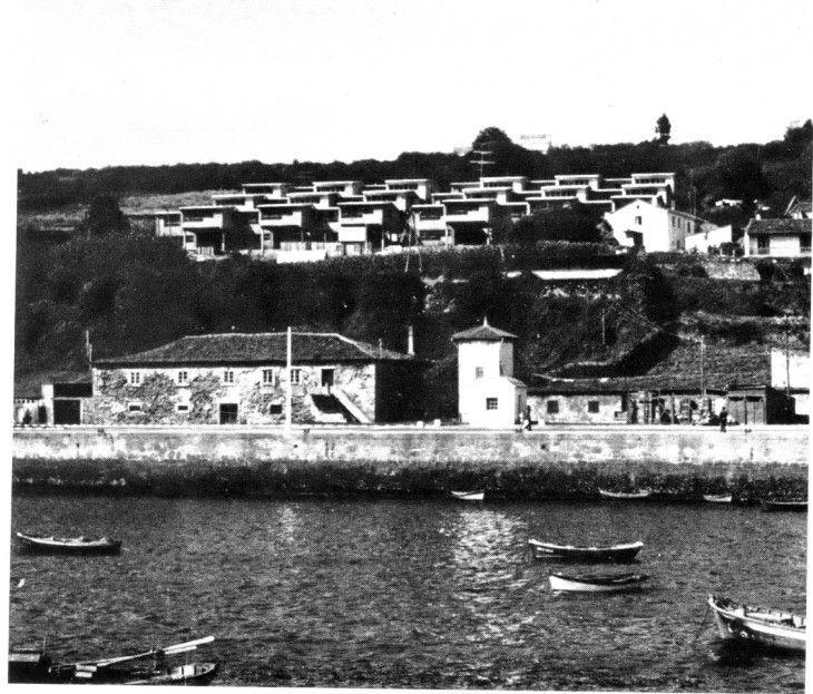 Vivendas para pescadores | Andrés Fernández-Albalat Lois | Sada (1967)
