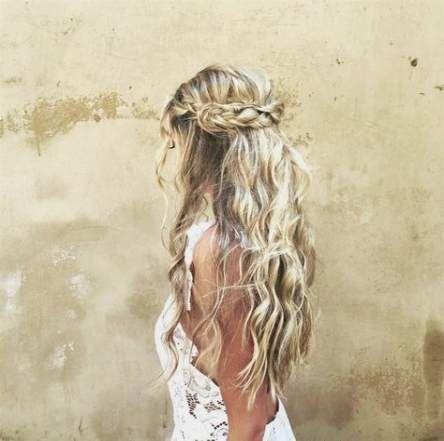 35 Super-Ideen für Hochzeitsfrisuren Bohemian Crowns – Hair…