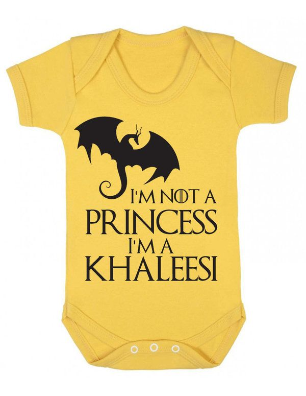 33 Awesome Game Of Thrones Onesies For Your Little Khaleesi