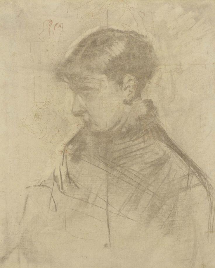 henri de toulouse lautrec 1864 1901 portrait de femme 1883 46 x 38 cm henri de toulouse. Black Bedroom Furniture Sets. Home Design Ideas