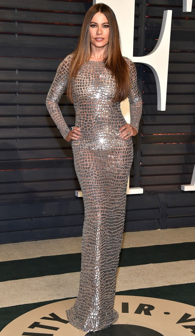 102 Awesome Oscars Weekend Outfits You Didn't See - but Can't Miss - Sofia Vergara in Michael Kors