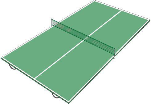 ¿Cómo hacer una mesa de ping pong transportable?